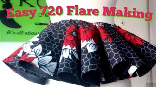 How To Make A Double/720 Pleated Flare (With Horse Hair)