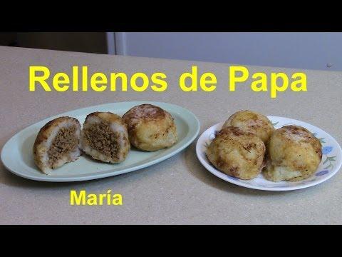 Rellenos de Papa (Frituras de Puerto Rico) - María