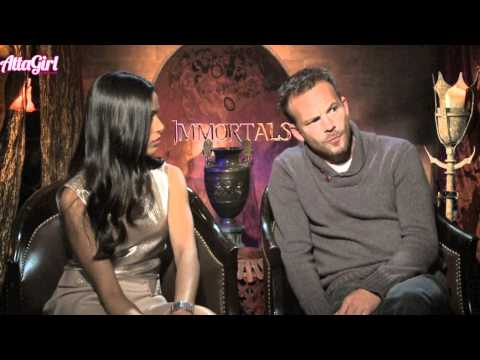 Frieda Pinto talks on screen nudity & Love scene for Immortals