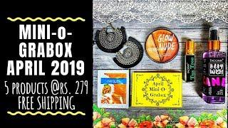 Mini-o-Grabox April 2019 @279 | Unboxing & Review