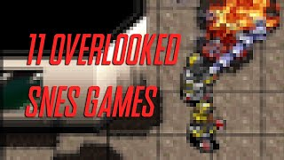 11 Of The Most Overlooked SNES Games