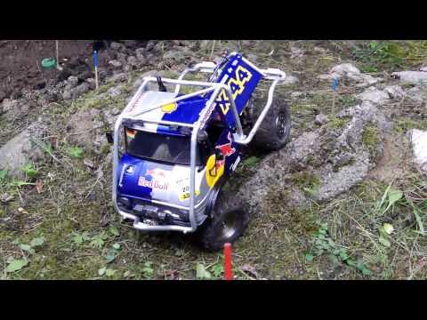 RedBull Zetros und Unimog RC Truck Trial 4. Lauf zur Süddeut