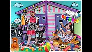 CRIANÇAS BRINCAM DE LIMPAR E BAGUNÇAR A CASA / PRETEND PLAY WITH CLEANING ! Mly KIDS & May