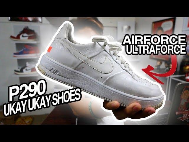 P290 UKAY SHOES SA ISETTAN! AIRFORCE ULTRAFORCE!!