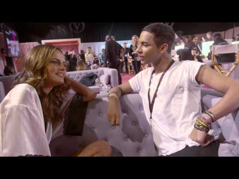 Victoria's Secret: Olivier Rousteing meets Barbara Fialho