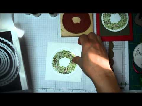 Stampin' Up! Holdiay Series 2013:  Wonderful Wreath Bundle Card Idea (Fixed!)