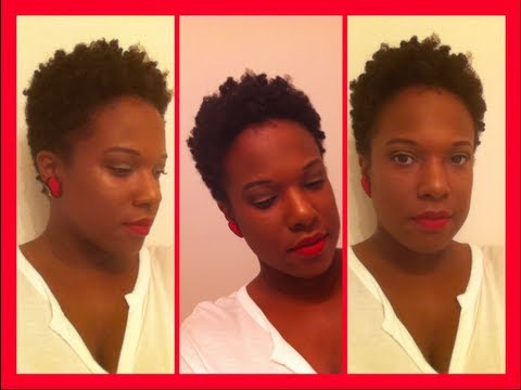 Natural Hair: Two Strand Twist w/ Finger Coils (TWA)