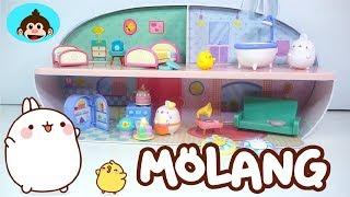 Molang / Casa y Juguetes de Molang y Piu Piu en Español
