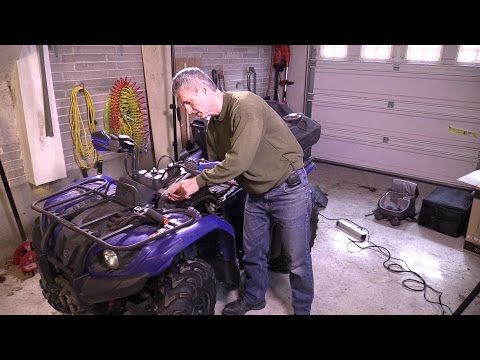 Yamaha 2005 Kodiak 400 ATV Carburetor Removal and Rebuild