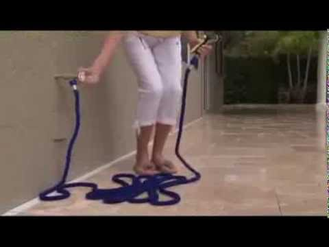 Xhose. Pocket hose. Magix hose. Stretch hose Expandable Garden Hose Commercial As Seen On TV