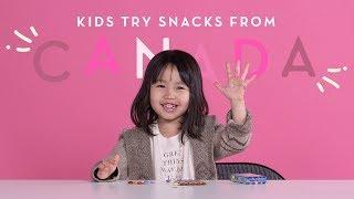 Canadian Snacks | Kids Try | HiHo Kids
