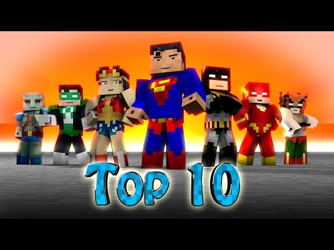 Minecraft Top 10 | Modded Top 10 Superheroes - Marvel & Dc! (hulk, Spiderman, Thor, X-men) video