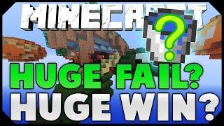 HUGE FAIL? OR HUGE WIN?! ( Hypixel Skywars )