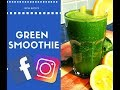 What For Breakfast HEALTHY GREEN SMOOTHIE  | Chef Ricardo Cooking