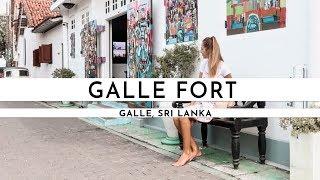 EXPLORING GALLE FORT, SRI LANKA 2018 | TRAVEL VLOG #55