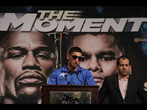 AMIR KHAN VS. Luis Collazo Post Fight Press Conference! *RAW & UNCUT*