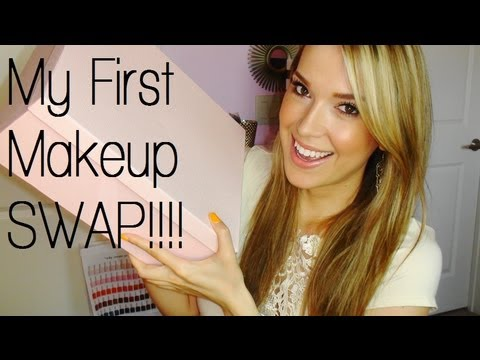 ♥ My First Makeup Swap With Shaaanxo!!!