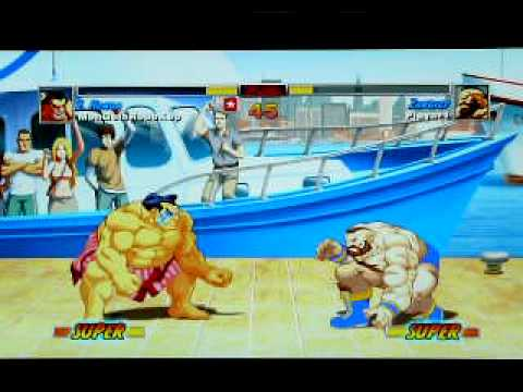 Denjin Ranbats 3.2 HDR Ironman Tournament: Wicked (Zangief, Honda) vs Dae (Zangief- Blue Trunks) Video