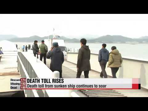 Death Toll From Sunken Korean Ferry Continues To Rise With No News Of Survivors video