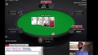 Daniel Negreanu Play PokerStars Game - NJ High Roller 1 // 2016