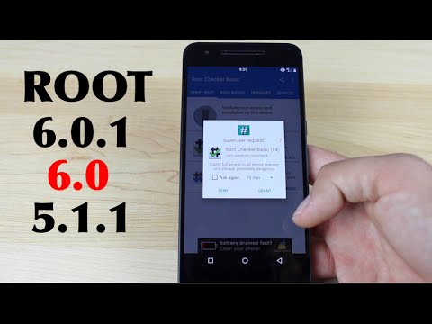How To ROOT Android 6.0.1. 6.0. 5.1.1 Systemless Root