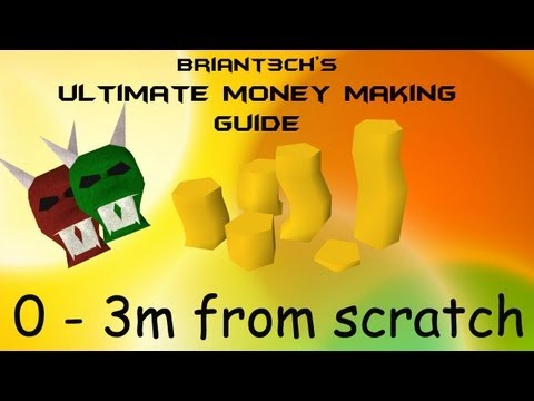 RuneScape EoC Money Making Guide Episode 12 0 – 3m from scratch / per hour 2013 Commentary