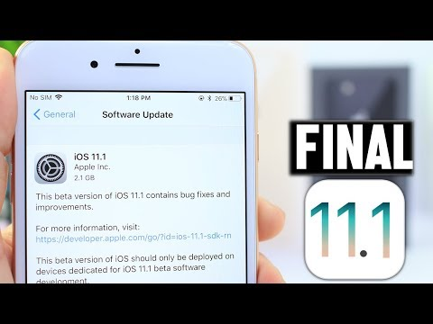 iOS 11.1 Beta 4 GM Final Version is Out | Did Apple Fix The Lock Screen Bypass ?