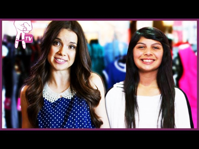 MissGlamorazzi Talks Fashion and How to Curl Your Hair with a Curling Iron - Make Me Over Extras