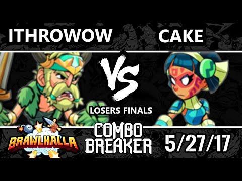 Combo Breaker 2017 Brawlhalla - STDX | iThrowow (Bodvar) vs [R]eason | Cake (Queen Nai) - LF