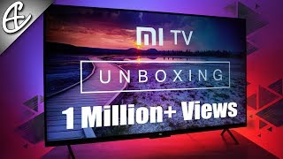 Xiaomi Mi TV 4 (55 inch 4K HDR TV) Unboxing & First Look!