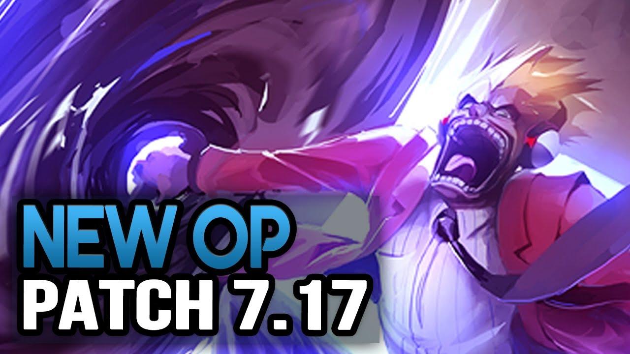 Draven & Censer Nerfs? New OP CHAMPS IN 7.17 - Biggest Changes (League of Legends)