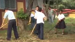 Huertos escolares en Nicargua