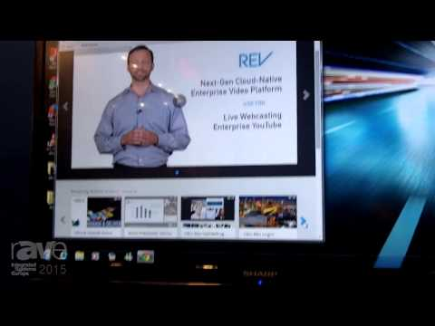 ISE 2015: VBrick Shows Off New REV Cloud-Native Enterprise Video Platform