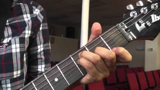 Acordes Mayores Major Chords Guitarra Guitar