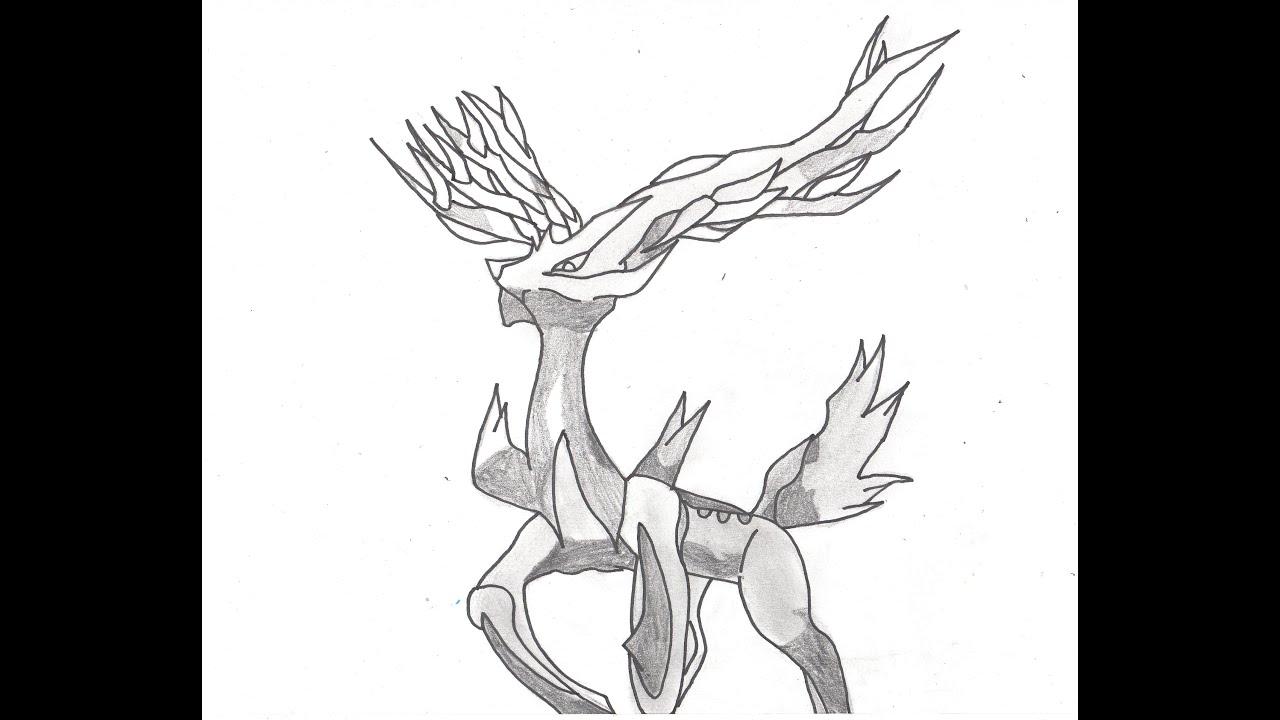 comment dessiner yveltal