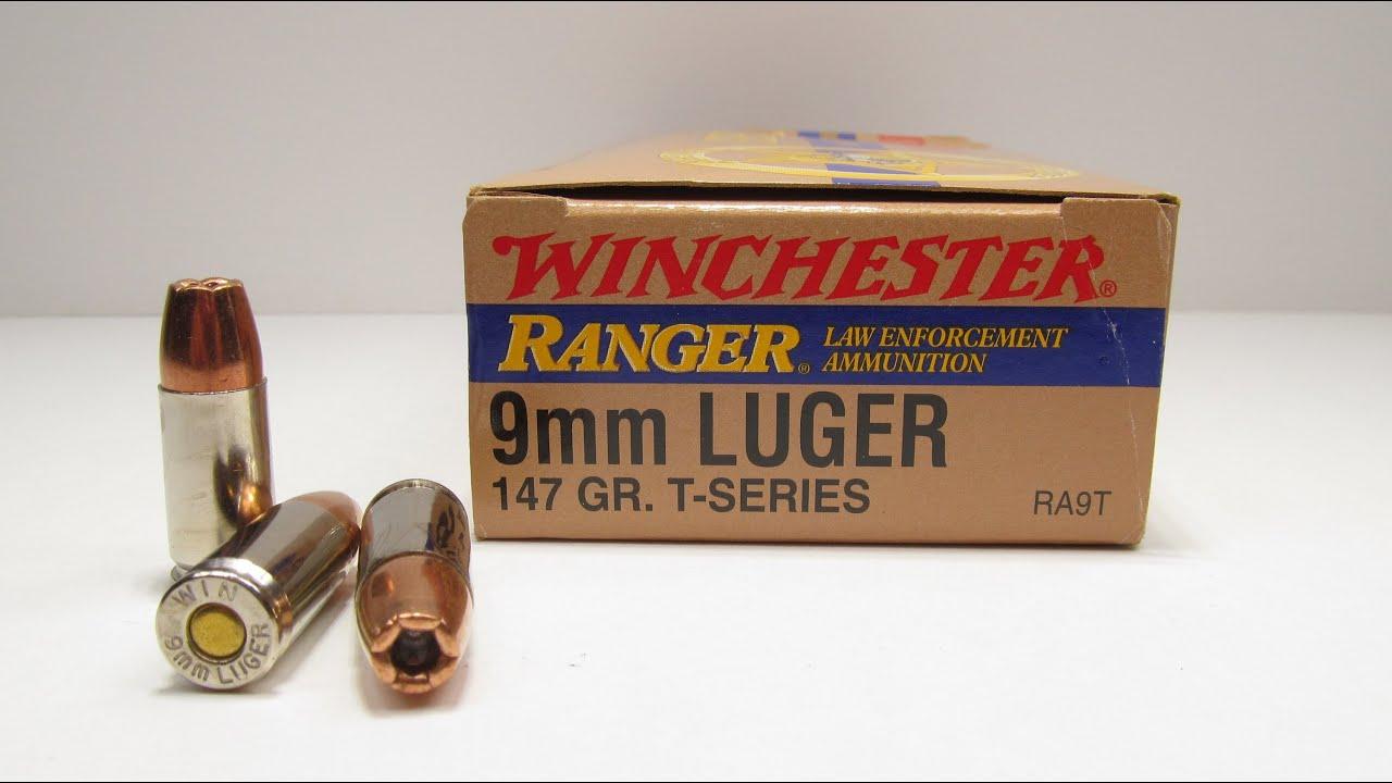 Winchester Ranger Bonded 9mm 9mm Winchester Ranger t 147