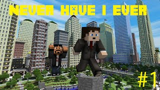 "Minecraft: Never Have I Ever - ""CREATED SUPERHEROES UNLIMITED!"" w/TheCyaNideEPiC"