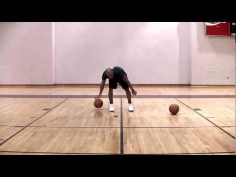 Teaching Basketball: Improve Ball Handling Skills - 15 minute Workout