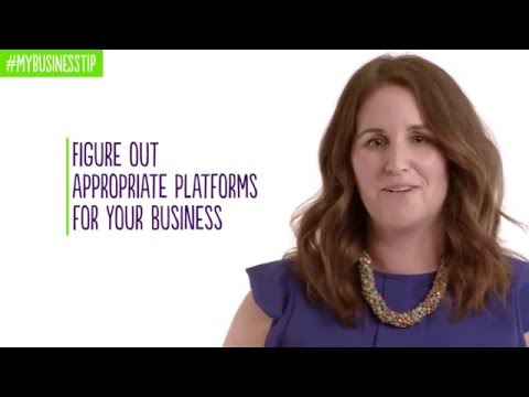 #MyBusinessTip: How to successfully promote your small business on social media