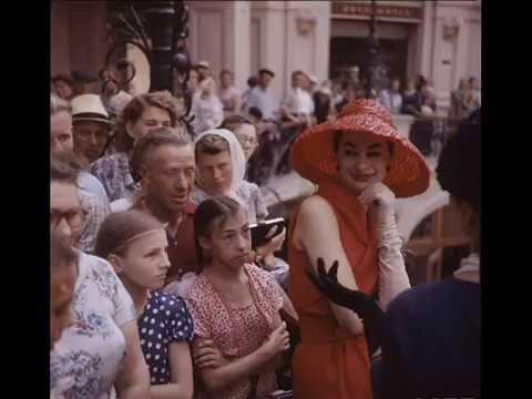 Dior models in Moscow, 1959. Photos by Howard Sochurek