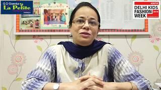 A message from GD.Goenka La Petite's academic head | Delhi Kids Fashion Week