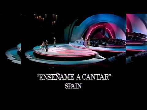 ESC 1977—ESPAÑA. ENSEÑAME A CANTAR