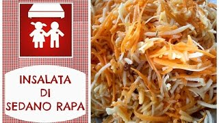 Insalata di Sedano-Rapa SUPERBUONA E LIGHT! (Contonri/Insalate) 2C+K