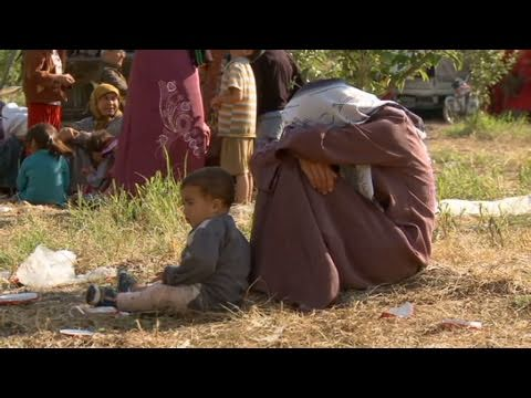 CNN: Misery at refugee camp in Syria
