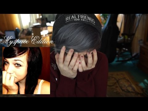 REACTING TO OLD PHOTOS  PART 2 (MySpace Edition)   Brenna Neal