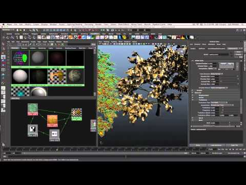 Discover Paint Effects in Autodesk Maya 2013