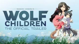 The Wolf Children Ame and Yuki - Wolf Children - Official Trailer (English dub)