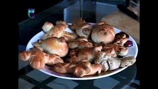 """Учимся печь: печенье """"Цветы"""" и """"Жаворонки"""". Рецепт. Мастер класс"""