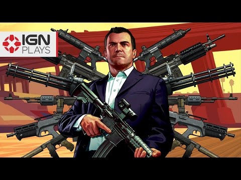 Insanely Overpowered Weapons Mod in GTA 5 - IGN Plays