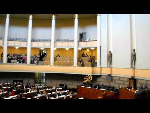 Finnish Parliament Session Clip